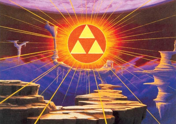 The Triforce in the Golden Land