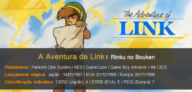 The Adventure of Link - Info Sheet