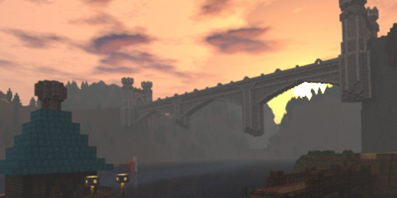 Bridge of Eldin em Minecraft