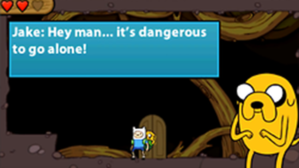 Adventure Time: Hey Ice King, Why Did You Steal Our Garbage? (NDS, 3DS)
