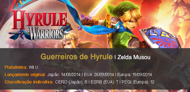 Hyrule Warriors Info Sheet