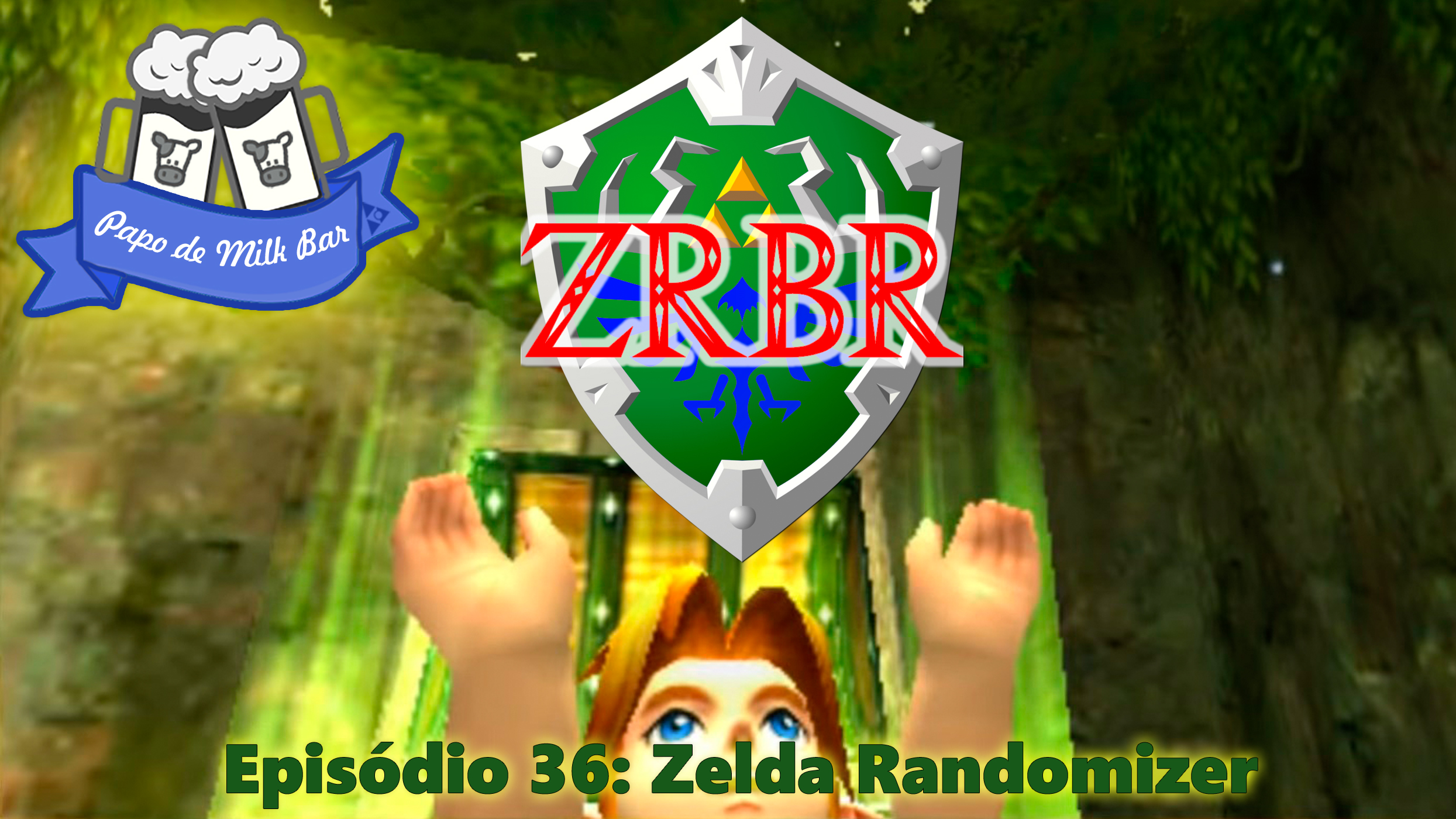 Papo de Milk Bar 36 Zelda Randomizer