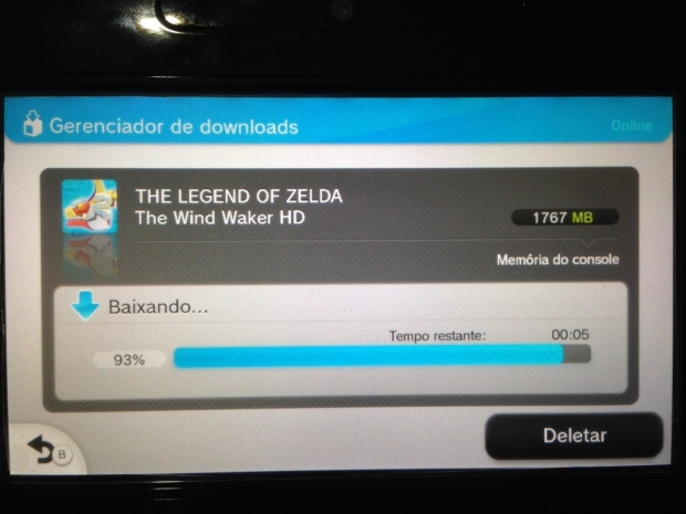 Downloading The Wind Waker HD