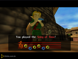 Majora's Mask (N64) - Song of Time
