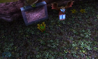 Majora's Mask 3D - Local de aprendizagem da Song of Soaring