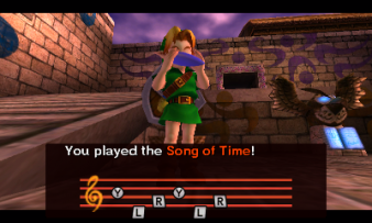 Majora's Mask 3D - Song of Time