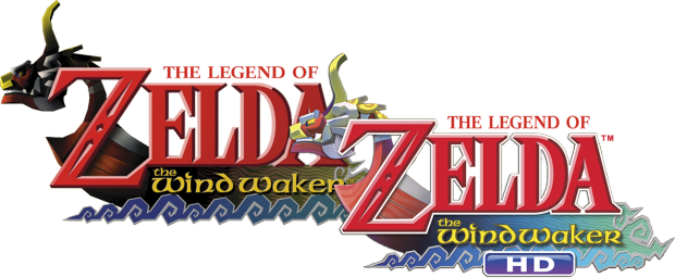 Logotipos de The Wind Waker e The wind Waker HD