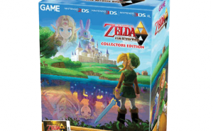The Legend of Zelda: A Link Between Worlds Collector's Edition, exclusivo das lojas GAME na Europa